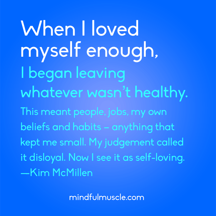 How to Love Yourself - Mindful Muscle