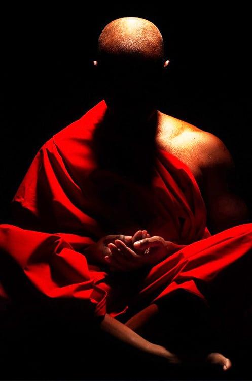 Buddhist Monk - Mindfulness Meditation