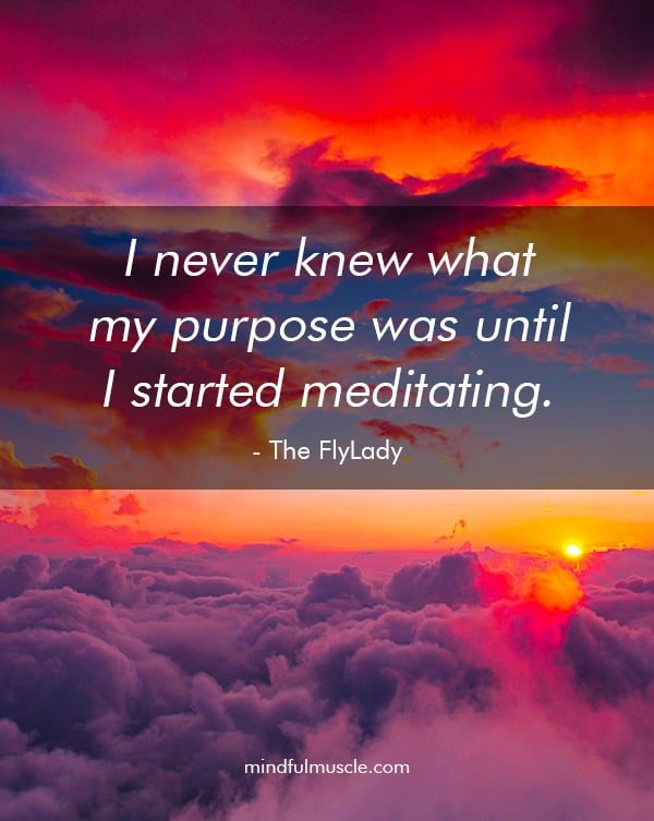 FlyLady - Meditation and Purpose